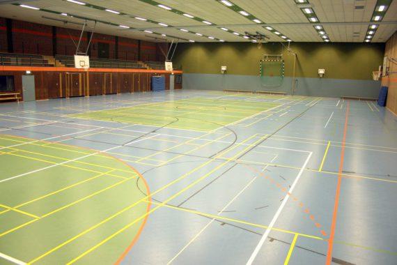 W. Terweide Haustechnik - Referenz Sporthalle Süd-Ost